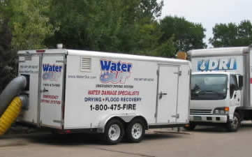 water damage wonderland hills CO